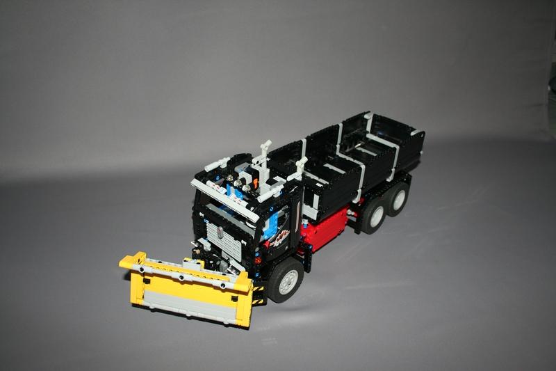 camion benne rc. Black Bedroom Furniture Sets. Home Design Ideas